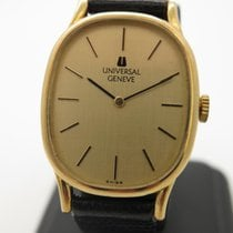 Universal Genève Yellow gold Quartz W02023 pre-owned