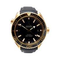 Omega Seamaster Planet Ocean Rose gold 45.5mm Black