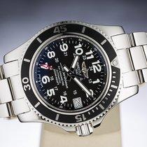 Breitling Superocean II 36 Steel 36mm Black Arabic numerals