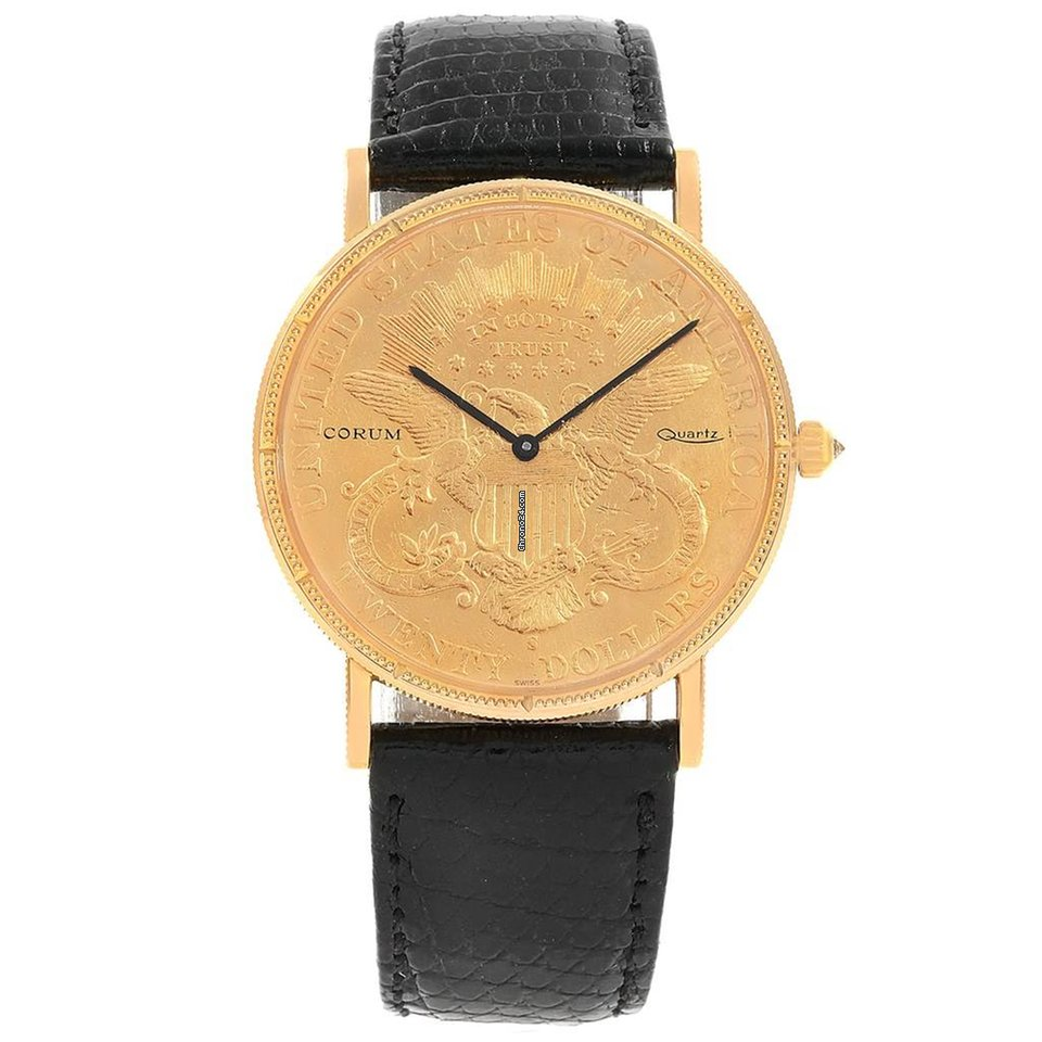 ab08875eea0ab Corum Coin Watch - all prices for Corum Coin Watch watches on Chrono24