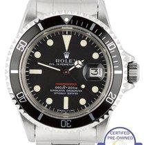 Rolex MINT Vintage 1972 Rolex Red Submariner 1680 Mark IV...