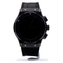 Hublot 45mm Automatisch 2018 tweedehands Classic Fusion Chronograph Zwart