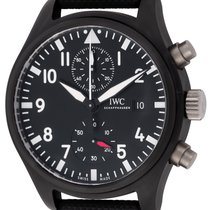 IWC : Pilot's Watch Chronograph Top Gun :  IW389001 :  Black...