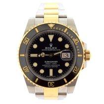 Rolex Submariner Gold & Steel Black Ceramic