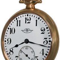 Ball Watch pre-owned Yellow gold Arabic numerals Manual winding Watch only