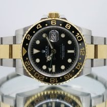 Rolex GMT-Master II pre-owned 40mm Gold/Steel