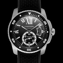 Cartier Calibre de Cartier Diver Steel 42.00mm Black United States of America, California, San Mateo