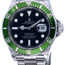 Rolex 16610LV Staal 2009 Submariner Date 40mm tweedehands Nederland, Katwijk aan zee