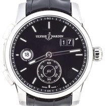 Ulysse Nardin Dual Time Steel 42mm Black United States of America, Illinois, BUFFALO GROVE