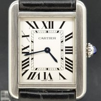 Cartier 2716 Staal Tank Solo 24mm tweedehands