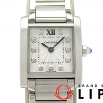Cartier WE110006 Steel Tank Française 25mm pre-owned