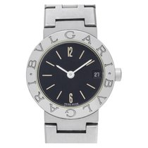 Bulgari Bulgari Steel 23mm Black No numerals United States of America, Florida, Surfside