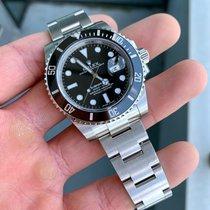 Rolex Submariner Date Сталь 40mm Черный