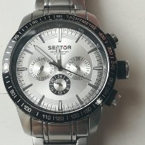 Sector Steel 45mm Quartz R3253575001 pre-owned