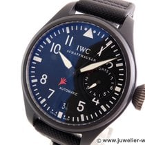 IWC Big Pilot Top Gun Ceramica 48mm Negru
