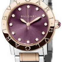 Bulgari Bulgari Gold/Steel 33mm Purple United States of America, Florida, Miami