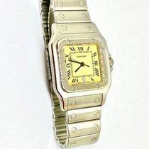 Cartier Santos Galbée Stahl 29mm Weiß Römisch Deutschland, Augsburg