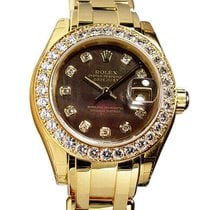 Rolex Lady-Datejust Pearlmaster 29mm Madreperla