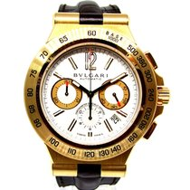 Bulgari Yellow gold 42mm Automatic DP 42 GCH pre-owned