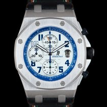 Audemars Piguet Royal Oak Offshore Chronograph Stål 44mm Sølv Arabertal