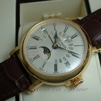 Patek Philippe Perpetual Calendar Yellow gold 38mm Silver United States of America, New York, New York