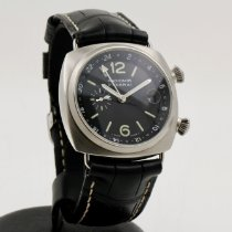 Panerai Radiomir GMT Steel 42mm Black Arabic numerals