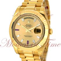 Rolex 218238 chrdp Or jaune Day-Date II 41mm occasion