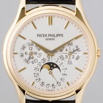 Patek Philippe Perpetual Calendar Yellow gold 37.2mm White No numerals United States of America, New York, Greenvale
