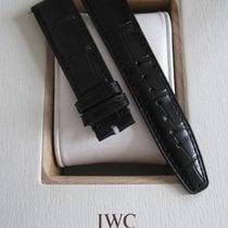 IWC 20mm black alligator strap for Portuguese Portugaise