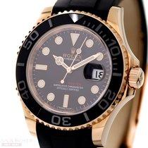 勞力士 (Rolex) Yachtmaster Man Size Ref-116655 18k Rose Gold...