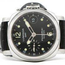 Panerai Luminor GMT 40mm Black PAM159 PAM00159 Automatic Watch