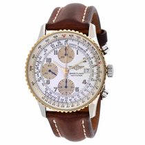 Breitling OLD NAVITIMER 42MM CHRONO GOLD AND STEEL