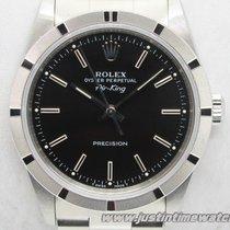 Rolex Oyster Air-King 14010 quadrante nero full set