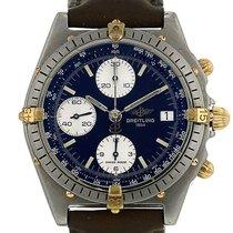 Breitling Chronomat en plaqué or et acier Vers 1990