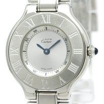 Cartier Must 21 Stainless Steel Quartz Ladies Watch W10109T2