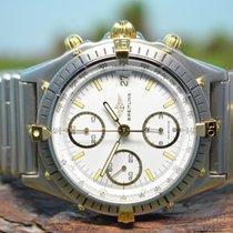 Breitling Chronomat UTC Chronograph 18kt Gold / Stahl,...