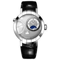 Harry Winston White gold Automatic Silver 41mm new Premier