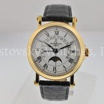 Patek Philippe Perpetual Calendar Жёлтое золото 36mm Белый