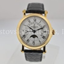 Patek Philippe Yellow gold Automatic White 36mm pre-owned Perpetual Calendar
