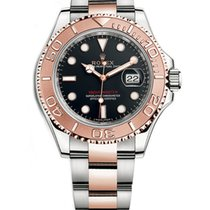 Rolex Yacht-Master 40 Gold/Steel 40mm Black No numerals United States of America, New York, NEW YORK