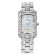 Baume & Mercier Hampton White gold 22mm Mother of pearl Arabic numerals United States of America, New York, NYC