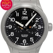 Oris Big Crown ProPilot Worldtimer Acier 44,7mm Noir