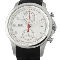 IWC Portuguese Yacht Club Chronograph Steel 44mm Silver United States of America, New York, New York