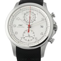IWC IW3905-02 Steel Portuguese Yacht Club Chronograph 44mm pre-owned United States of America, New York, New York