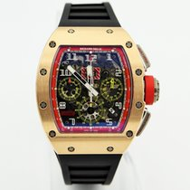 Richard Mille Rose gold Automatic Transparent Arabic numerals 50mm pre-owned RM 011