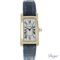 Cartier 1710 Geelgoud Tank Américaine 19mm