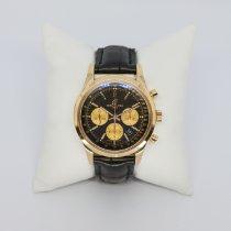Breitling Transocean Chronograph Roségold 43mm Silber Schweiz, Zurich