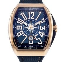 Franck Muller 44mm Automatic pre-owned Vanguard Blue