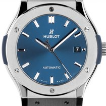 Hublot Titanium Automatic Blue 45mm new Classic Fusion Blue