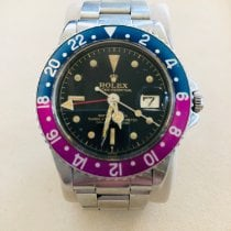 Rolex GMT-Master Steel 40mm Black No numerals United States of America, New Jersey, Wyckoff